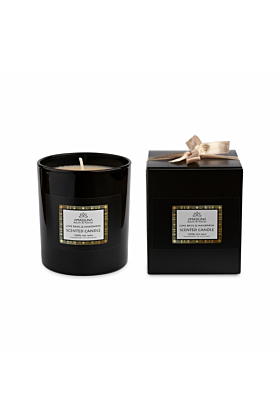 Velvet Peony & Oud Black Soy Candle