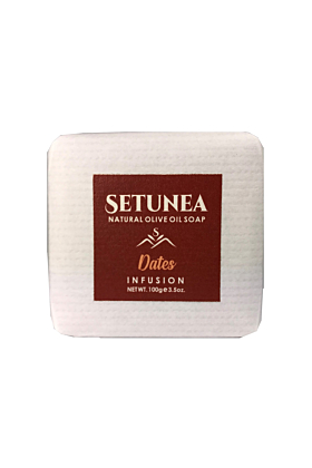 Natural Olive Oil Soap With Dates Infusion 100g