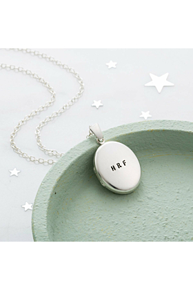 Personalised Message Locket Necklace
