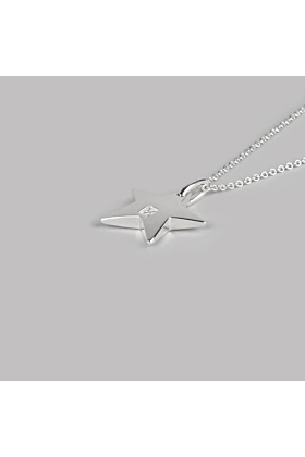 Sterling Silver Star Necklace | No. 04