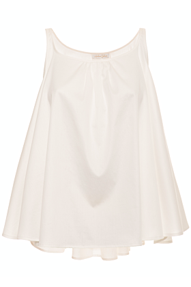 Betti White Flared Top