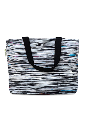 Colour Black Beach Bag
