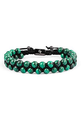 Malachite Double Bracelet