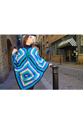 Wings Of A Butterfly Poncho