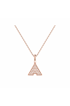 14kt Rose Gold Plated Skyscraper Pendant