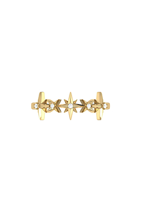 Yellow Gold Plated Starry Lane Ring