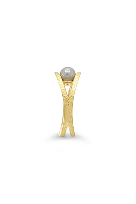 9kt Yellow Gold Pearl Reflections Ring