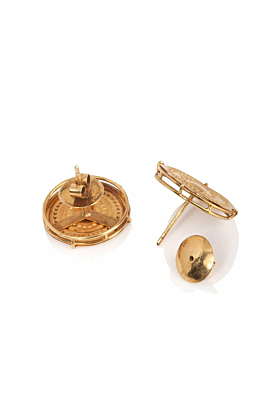 18kt Yellow Gold Ginta Earrings