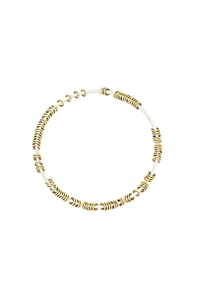 Centi Bangle With Gold Rings