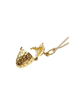 Gold Magical Charm Necklace - Health