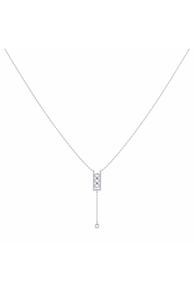 Sterling Silver Traffic Light Lariat Necklace