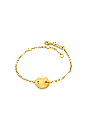 Yellow Gold Plated Disco Inferno Bracelet