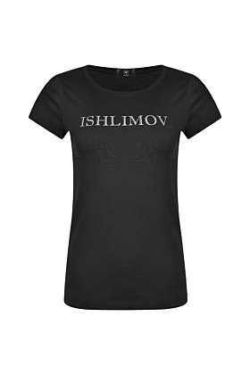 Cotton T-shirt with Ishlimov Print