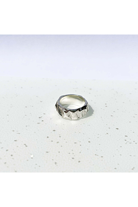 Sterling Silver Dune Ring
