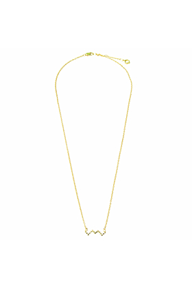 Baori Outline Necklace 18ct Gold Vermeil