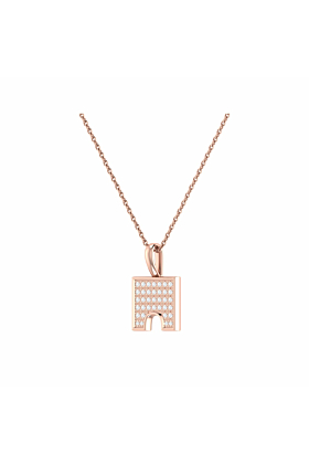 14kt Rose Gold Plated City Arches Pendant