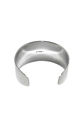 Sterling Silver Warrior Cuff Bangle