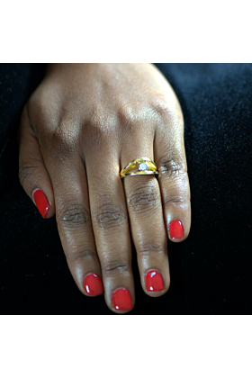 18kt Yellow Gold Reflections Ring