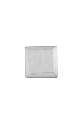Sterling Silver Bevelled Square Pin