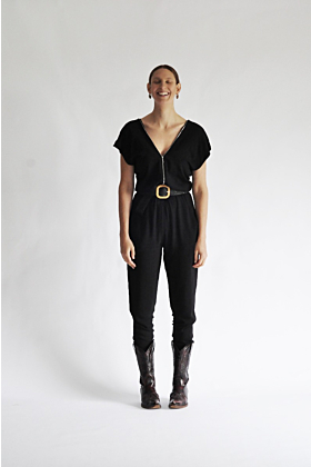 Elegant Jumpsuit 'Camp' With Zipper Closure