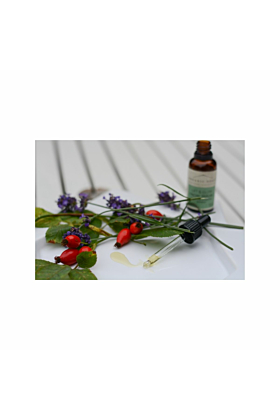 Lift and Glow Facial Serum with Rosehip, Pomegranate and Neroli