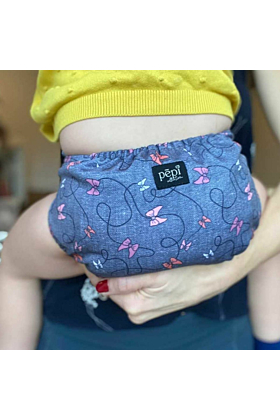 Flutterby Bows Reusable Cloth Nappy