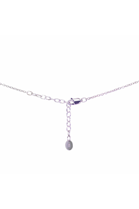 Sterling Silver & 9kt Yellow Gold Hugs Necklace