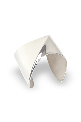 Sterling Silver Solid Sharch Bangle