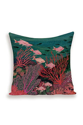 Coral Reef Cushion Cover