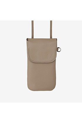 Phone bag taupe Crossover