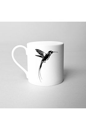 Girl and the Hummingbird Fine Bone China Mug