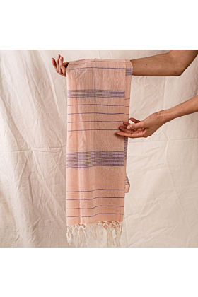 Peach Unisex Cotton Scarf