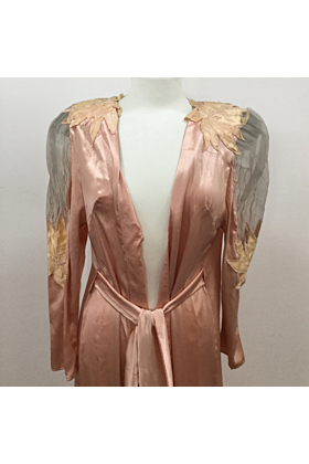 Stevie Nicks' Worn And Autographed Satin Nightgown