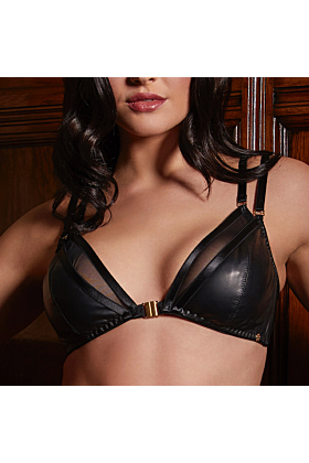 Leather Mia Soft Cup Triangle Bra