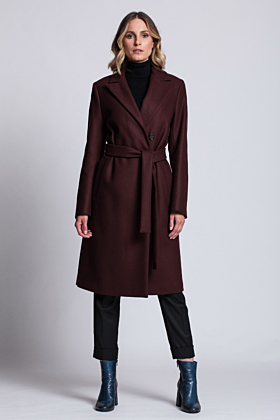 Wool Coat Confidence Fig