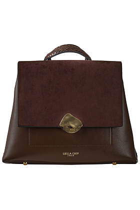 Isabelle Chocolate Multiway Backpack