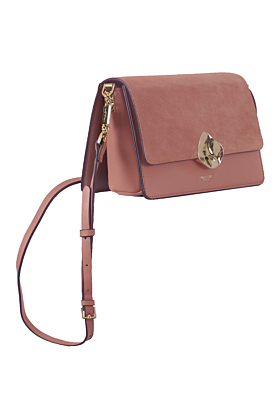 Esme Apricot Small Crossbody Bag