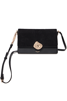 Esme Black Small Cross Body Bag
