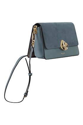 Esme Dusk Blue Small Crossbody Bag