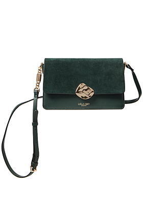 Esme Forest Green Small Cross Body Bag
