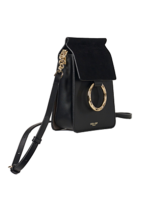 Holly Black Crossbody Phone Bag