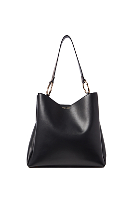 Isadora Black Hobo With Reptile Feature Strap