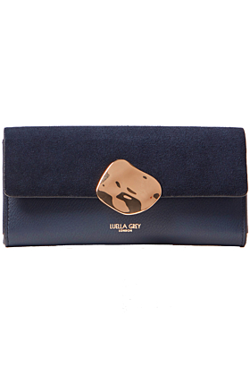 Layla Navy Multi Compartment Purse
