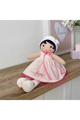 Personalised Kaloo Perle K My First Doll Soft Toy