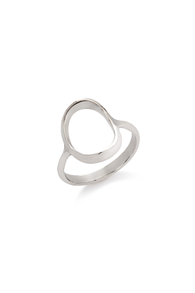 Sterling Silver Nordic Bubble Ring
