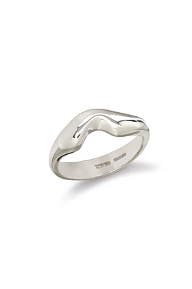 Sterling Silver Fjord Ring