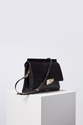 Megan Crinkle Lock Cross Body