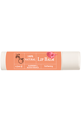 Pure Lip Balm 3 Pack   Cacao, Rose Flower & Blood Orange with Raspberry