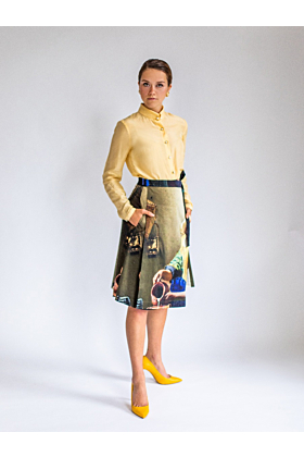 "Wrap Skirt ""The Milkmaid"""