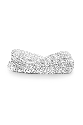 Sterling Silver Mesh Bracelet Narrow